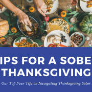 tips for a sober thanksgiving
